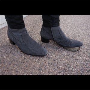 Yves Saint Laurent Python boots